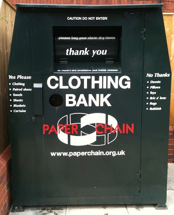 Paperchain Commercial Road Textile Bank